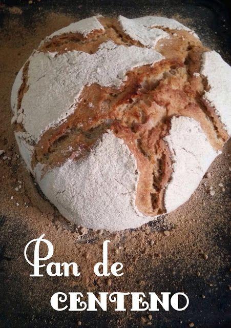 PAN CASERO: Pan de CENTENO, receta de Bertinet