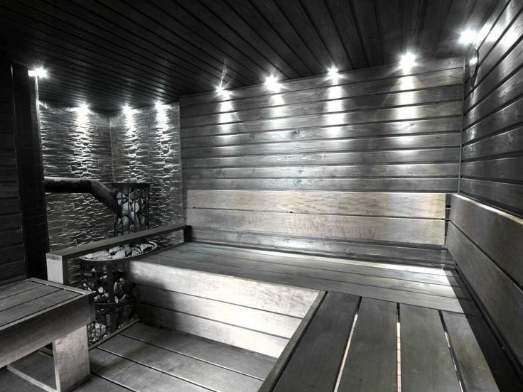 Harmaa sauna