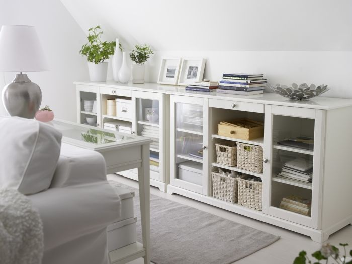 25+ best ideas about Ikea living room storage on Pinterest
