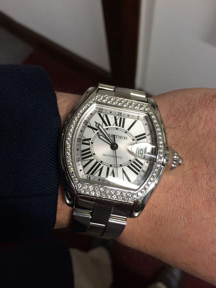 Cartier Roadster W62032X6 Wrist Watch for Men | Watches ...