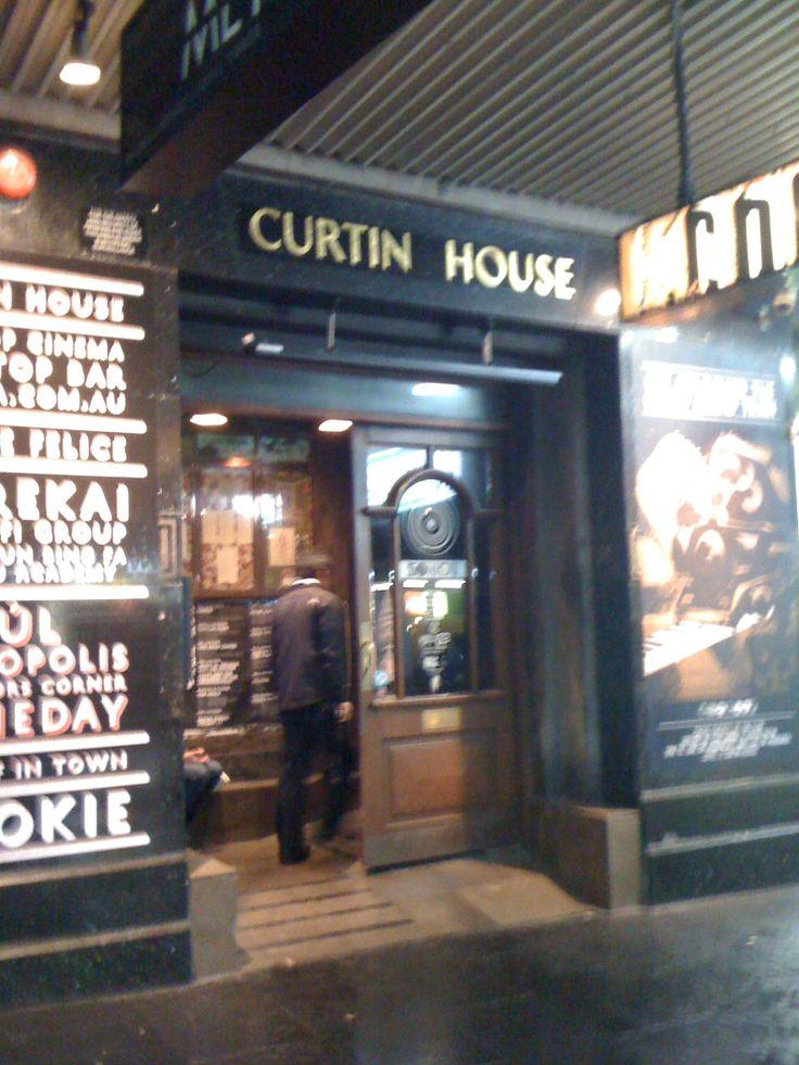 Melbourne, Australia. Curtin House Pub