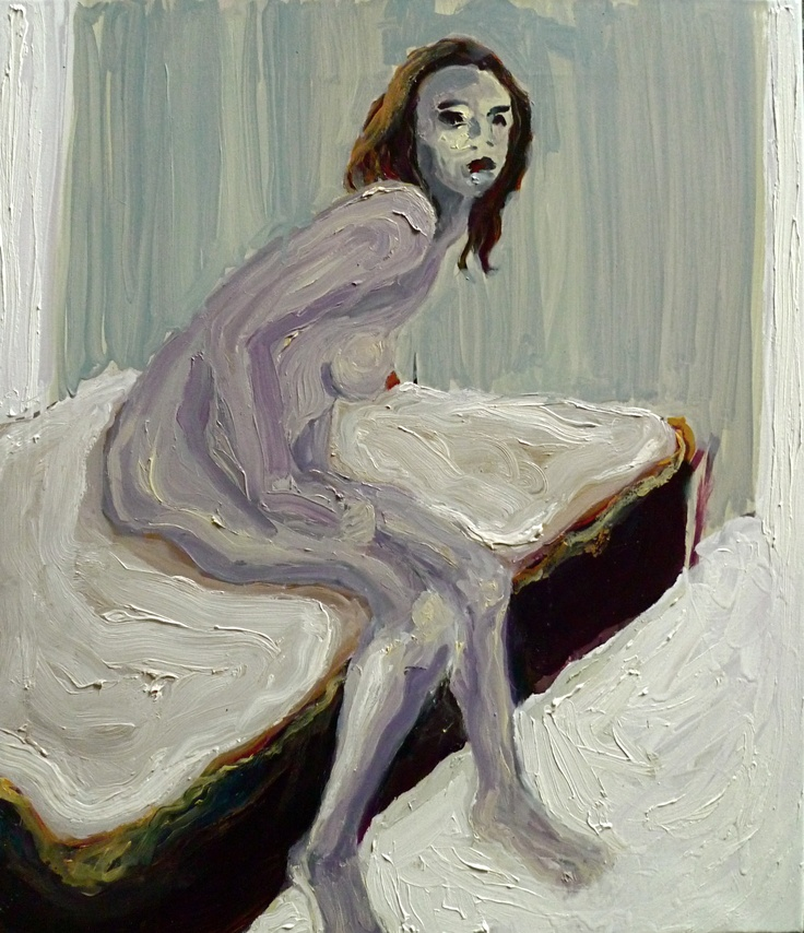 Angel, Oil on canvas 70x60 cm, Per Adolfsen 2012