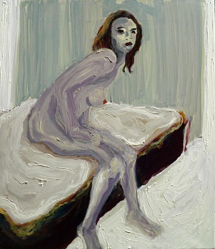 Angel, Oil on canvas 70x60 cm, Per Adolfsen 2012