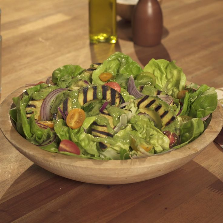 Donald shows you how to make this amazing Green Goddess Grilled Avocado Salad!