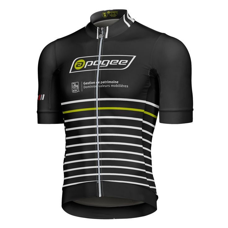Cycling jersey - Designed and made by Apogee Sports.  Client : Apogee / RBC Elite cycling team