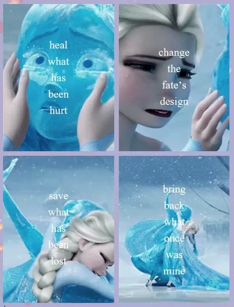 What once was mine...Tangled/Frozen