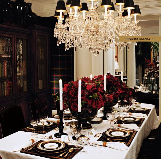 1000 ideas about red dining rooms on pinterest red for Ralph lauren dining room ideas