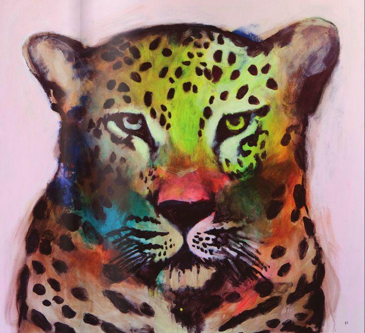 Cool colour combination! Artist: Emma Gale.