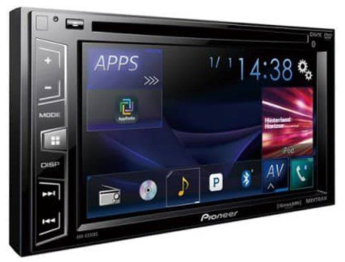 Pioneer AVH-X390BS Double Din Bluetooth In-Dash DVD/CD/Am/FM Car Stereo Receiver with 6.2 Inch Wvga Screen/Sirius Xm-Ready. For product info go to:  https://www.caraccessoriesonlinemarket.com/pioneer-avh-x390bs-double-din-bluetooth-in-dash-dvdcdamfm-car-stereo-receiver-with-6-2-inch-wvga-screensirius-xm-ready/