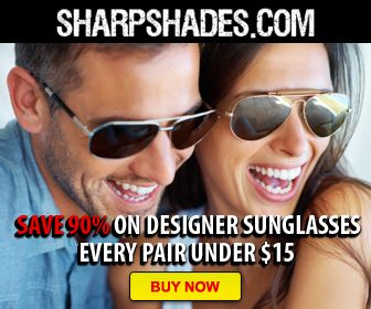 Designer Sunglasses - 90% Off!  SharpShades.com