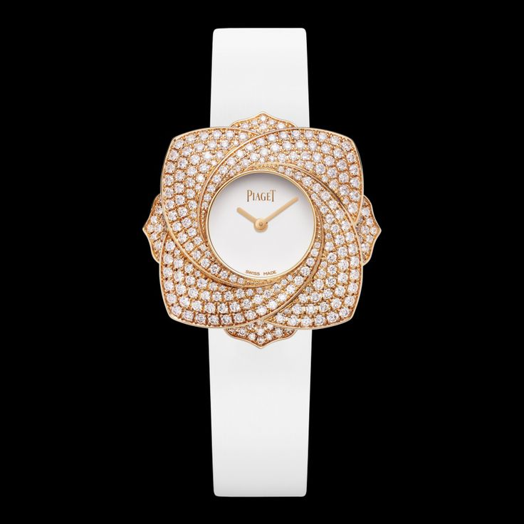 Piaget Limelight Blooming Rose watch. Rose gold Diamond Watch G0A39183 - Piaget Luxury Watch Online