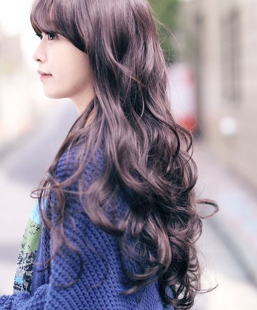 how to style digital perm hair digital perm search hair amp that i 8105