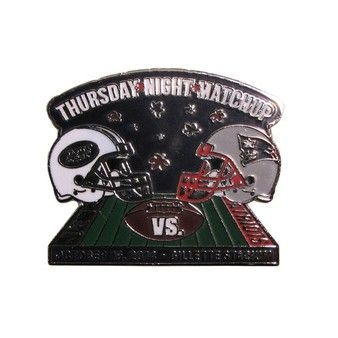Thursday Night Football Pin #NYJvsNE