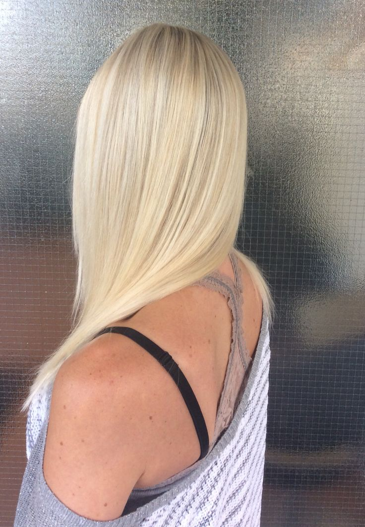 Blond long hair - pitkät vaaleat hiukset #summerhair #blond #summerblond #niophlex