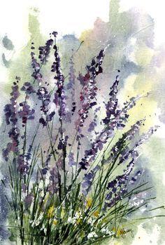 Watercolour Florals: Retrospective : Tissue Paper
