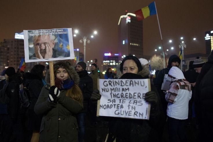Proteste în București (Foto: Guliver Getty Images)