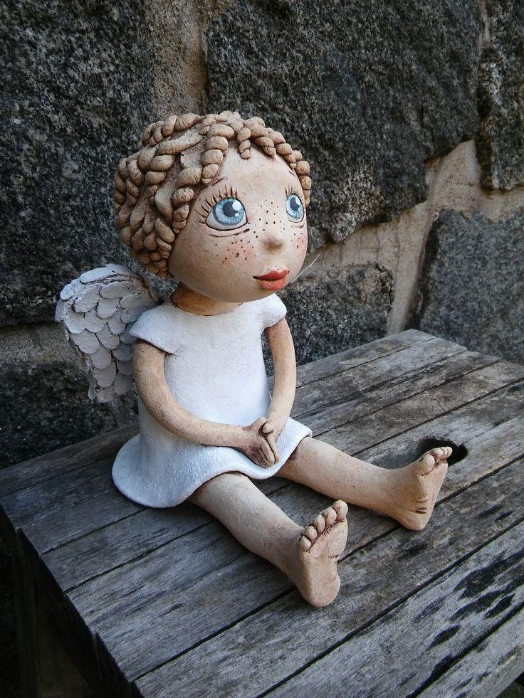 Malá Andělka sedící (ihned k dispozici)