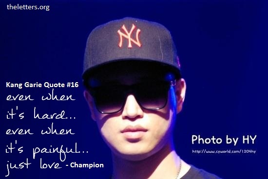 Kang Gary Quote | LeeSsang Quote