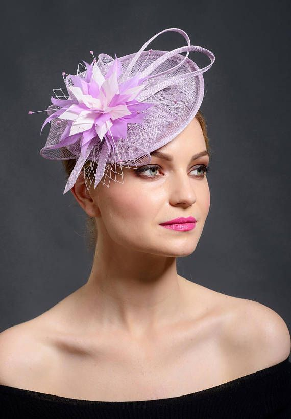 ef16d883 2018 trend colour fascinator hat by Marge Iilane | Fascinators in 2019 | Fascinator  hats, Fascinator, Purple fascinator