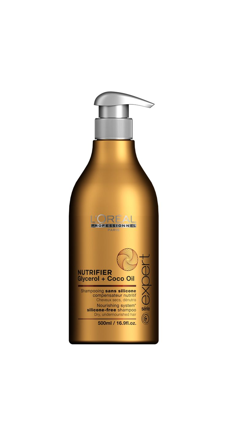 L'Oréal Professionnel Paris Série Expert Nutrifier Nourishing System silicone-free shampoo 500ml.