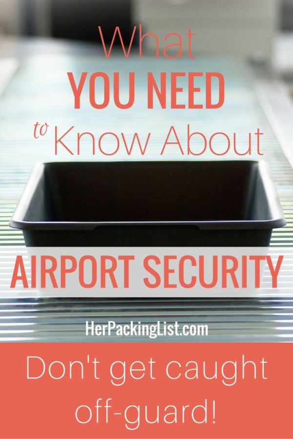 what you need to know about airport security
