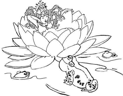 Fantasy Embroidery Designs: Thumbelina Embroidery Pattern