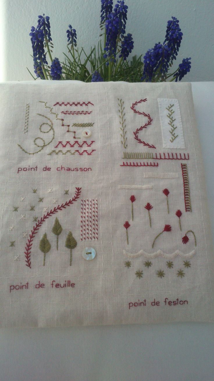 Página 3 del SAL Mon cahier de broderie  http://www.cova-libre.es/categorie-12488983.html