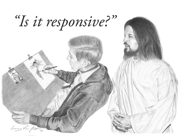"""Is it responsive?"""