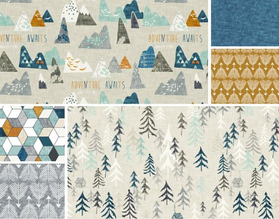 1000 ideas about woodland nursery bedding on pinterest for Mountain crib bedding