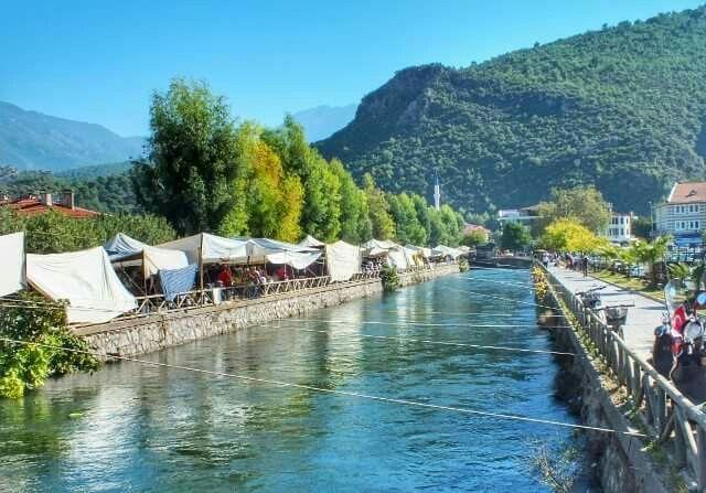 Fethiye market place, Turkey.