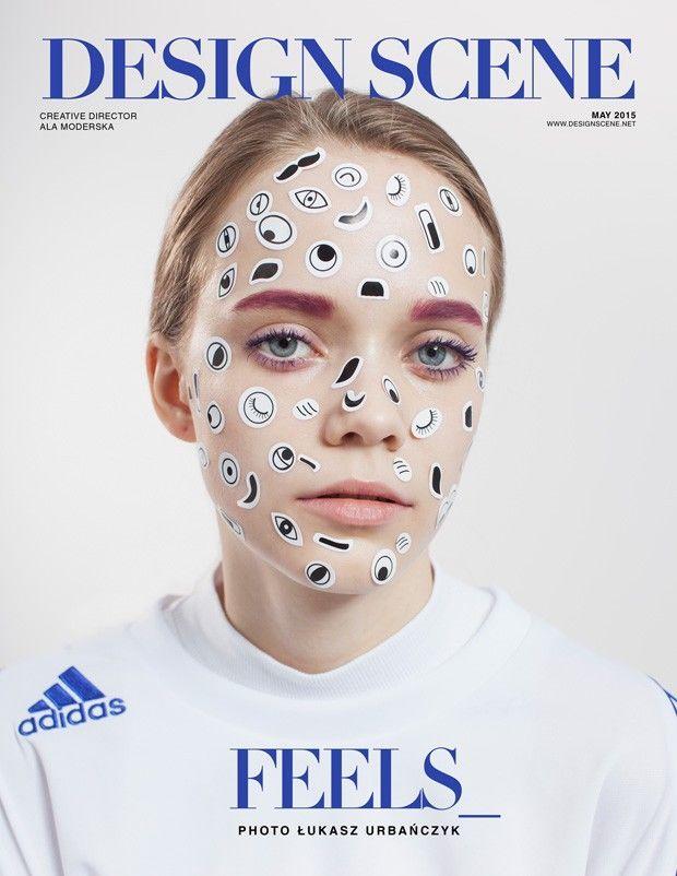 Design Scene's FEELS Image Series Boasts Vibrant Cosmetics #beauty trendhunter.com