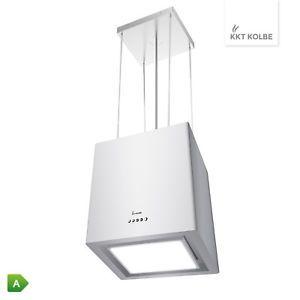 KKT-KOLBE-Design-hotte-ilot-en-dessous-illumine-avec-LED-cable-blanche-mat