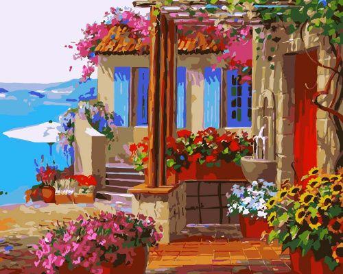 «Райский дворик» Микки Сенкарик