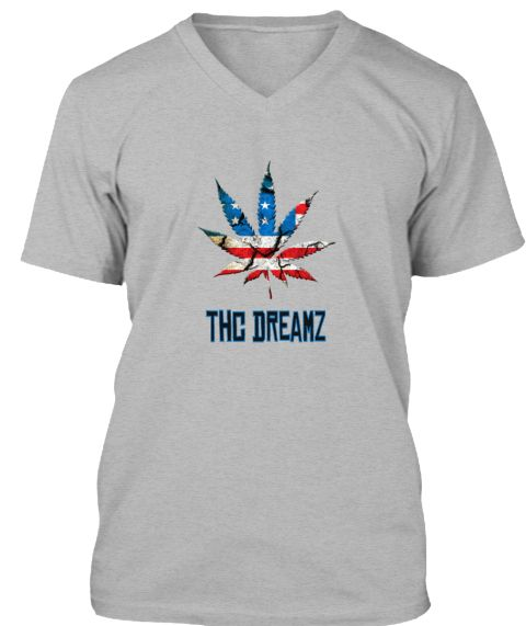 Thc Dreamz Athletic Heather T-Shirt Front