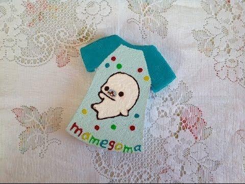 Diy Squishy Hello Kitty : Squishy Tutorial: Mamegoma T-shirt ? Squishy Toys & DIY Tutorials Pinterest Tutorials, DIY ...