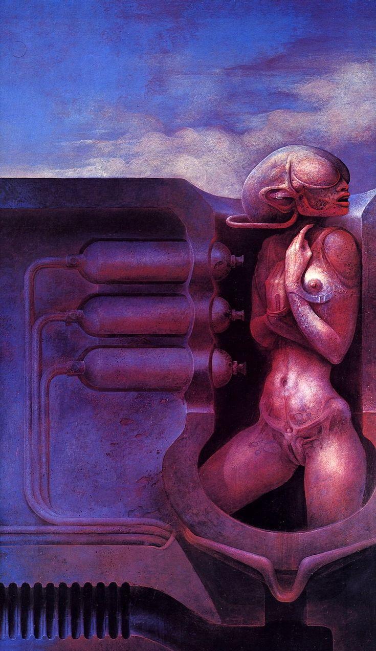 Hans Rüdi Giger: Humanoid I