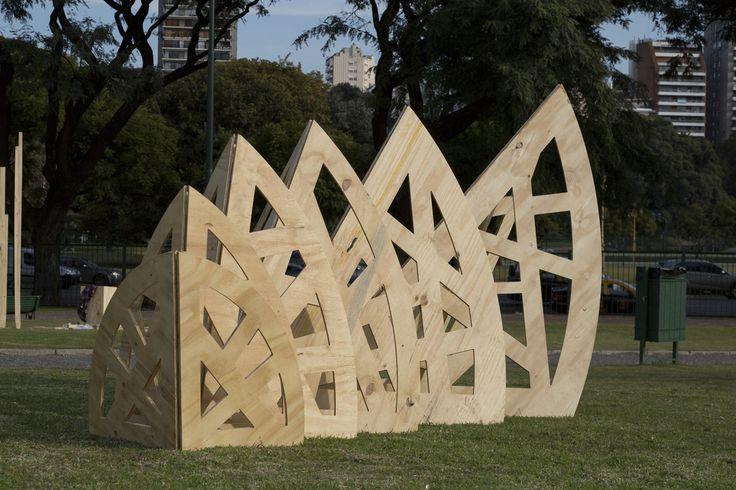 REFUGIO Pachi Almeyda + Paula Juncadella + Ana Cañas   #diseño #madera #festival #wood #design #art #arte #fashion #moda