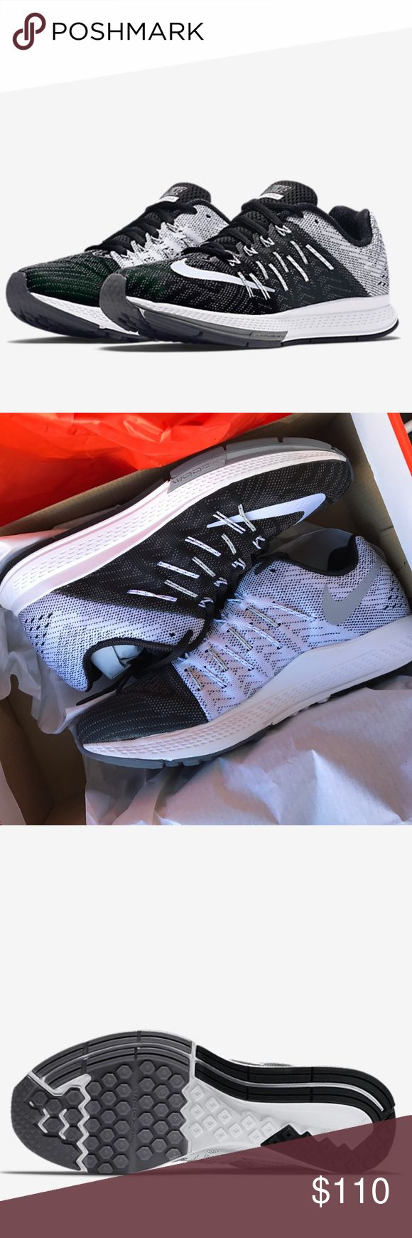 NWB 👣 WOMENS NIKE ZOOM ELITE New never worn NIKE ZOOM ELITE women's. This shoe is beyond perfect for fashion AND function. In the hard to find Oreo color way 😍👣. This item ships in its original NIKE BOX.   NO OFFERS. THESE ARE FULL RETAIL AT ALL STORES INCLUDING FOOTLOCKER...YOU DO NOT PAY SALES TAX ON POSH. 🤑 Bundle to save 15% ❤️   Ships same or next day from my smoke free home.  PRICE IS FIRM ⚡️100% authentic Nike product purchased directly from NIKE Nike Shoes Athletic Shoes