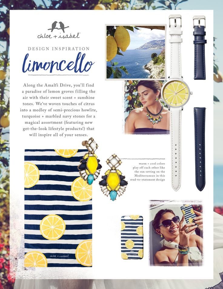 Discover the inspiration behind our Limoncello mini-collection, including brand-new product categories!