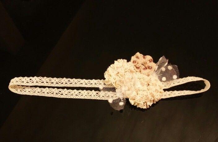 Baby #headband - #lace