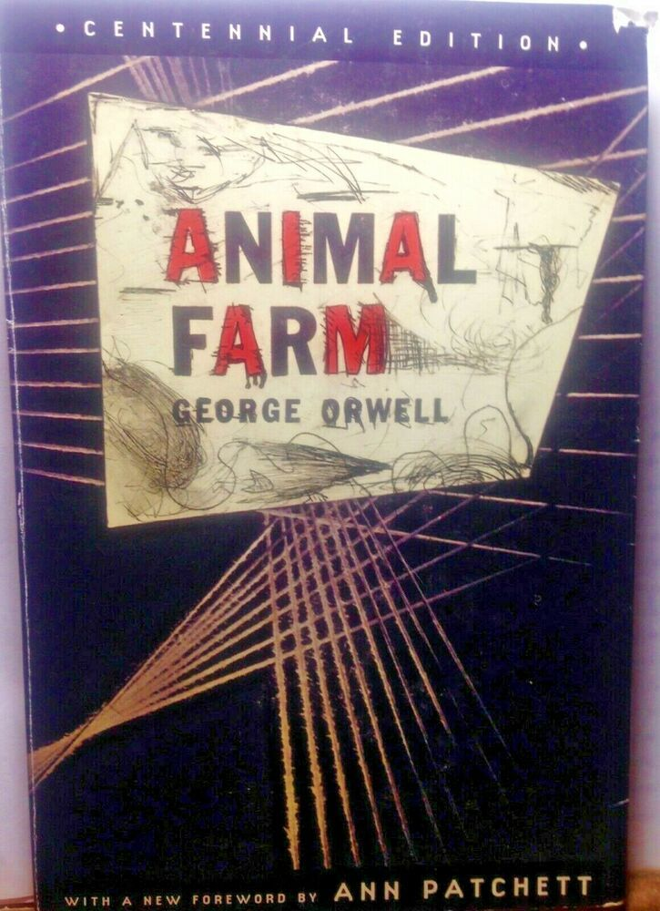 Animal Farm Centennial Edition By George Orwell Softcover 2003