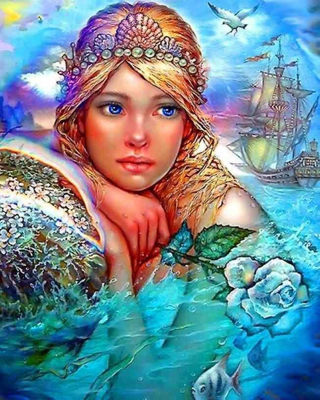 Mermaid ~ by Knyazev Sergey