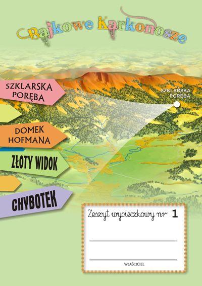 Zeszyt wycieczkowy nr 1 SZKLARSKA PORĘBA | Wydawnictwo Poligrafia AD-REM
