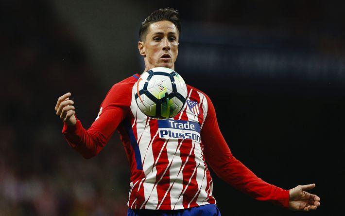 Download wallpapers Fernando Torres, 4k, football stars, Atletico Madrid, soccer, Torres, La Liga, footballers