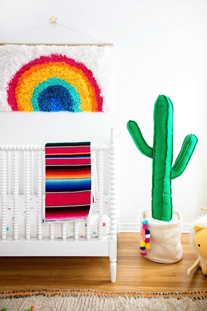 A Rainbow Nursery That Pinterest Dreams Are Made Of