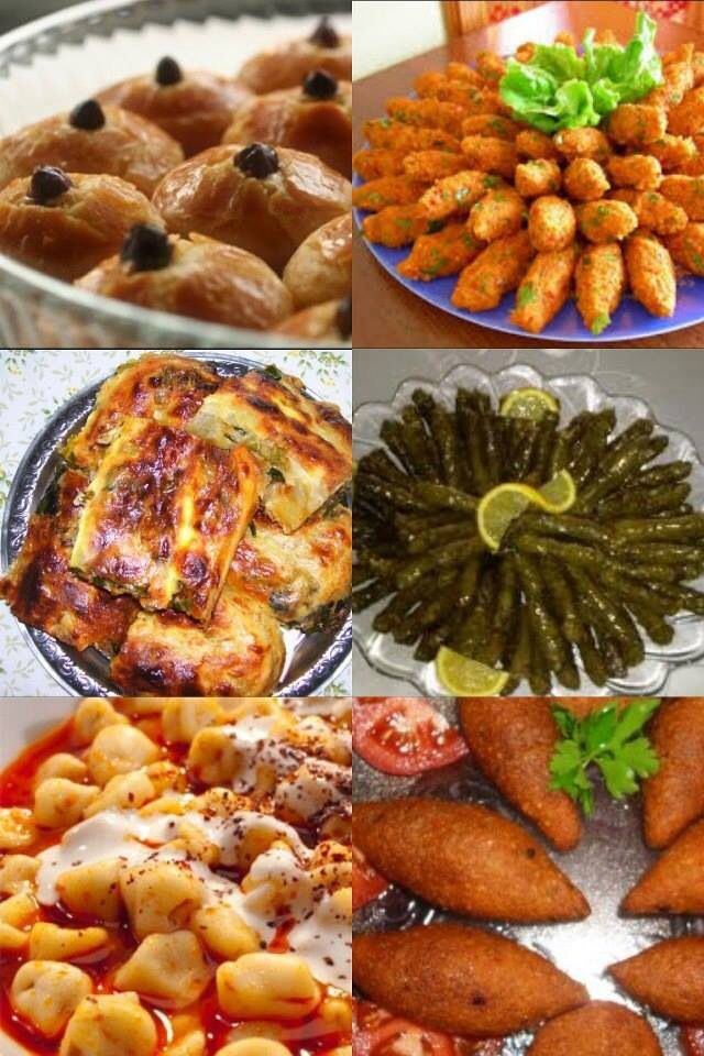 Turkish foodورق عنب وكوساTurkish Yaprak/ Greek Dolmas / American Stuffed Grape Leaf Recipes : ♦️More Pins Like This At FOSTERGINGER @ Pinterest ♦️