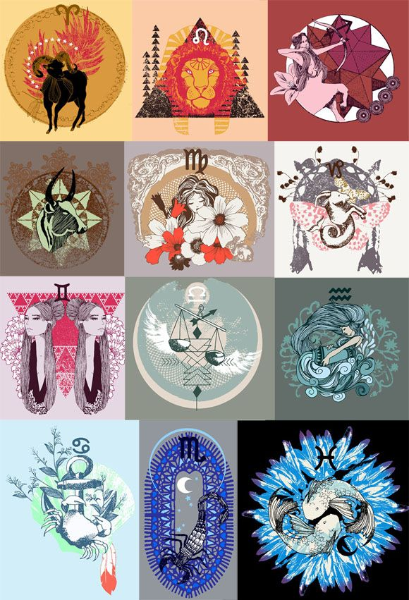 Love the #zodiac #collage