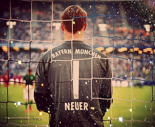 Neuer, what a goalie!  One of the main reasons that Germany won the 2014 World Cup!