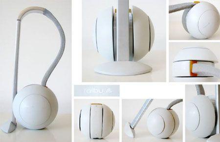 """Taibu"" Cute Round Vacuum Cleaner"