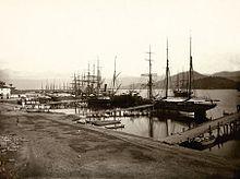 Marc Ferrez, século XIX, Porto de Santos